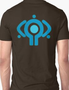 serial experiment lain copland OS enterprise logo Unisex T-Shirt