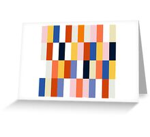 Nice Colorful retro Fashion Pattern Original Design Greeting Card