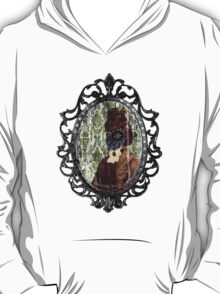 Lady Stained Glass Window Face T-Shirt