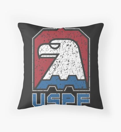 USPF United States Police Force logo Throw Pillow