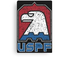USPF United States Police Force logo Canvas Print