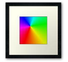 Multi-colored light Framed Print