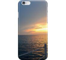 Sunset in Cozumel iPhone Case/Skin