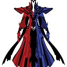 LoL - Karthus (dark red and blue without face) by Cafer Korkmaz