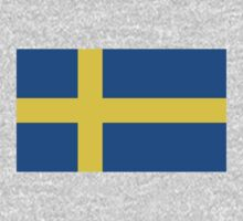 Swedish Flag (Vanilla Version) One Piece - Long Sleeve