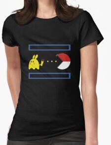 Pac-Achu Womens Fitted T-Shirt