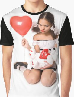 Love Card Graphic T-Shirt