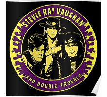 Stevie Ray Vaughan & Double Trouble Colour 2 Poster