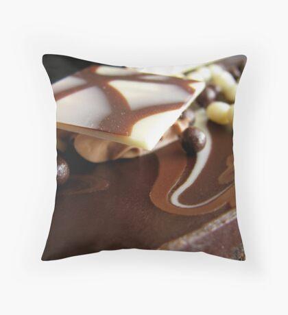 Truffle cake 1 Throw Pillow