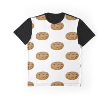 Chocolate Chip Cookie - Junk Food Graphic T-Shirt