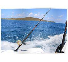 Deep Sea Fishing Poster