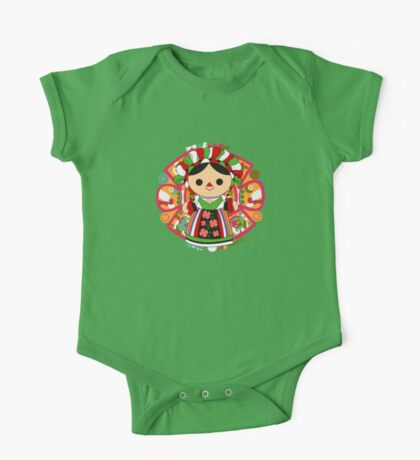 Maria 5 (Mexican Doll) One Piece - Short Sleeve