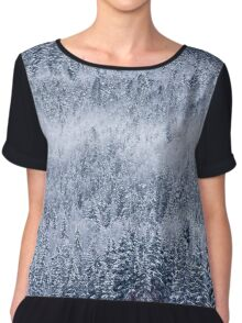 Frozen forests Chiffon Top