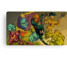 The Old Gang Canvas Print