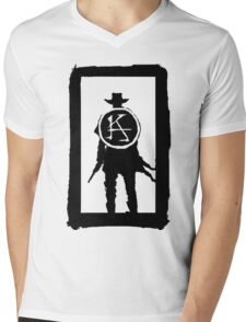 Ka is a wheel w/o color Mens V-Neck T-Shirt