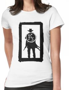 Ka is a wheel w/o color Womens Fitted T-Shirt
