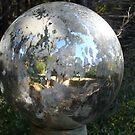 Weathered Globe by Cathy Jones