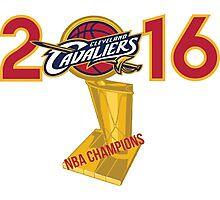 2016 Cleveland Cavaliers NBA Champions  Photographic Print