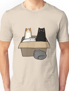 Cats in a Box Unisex T-Shirt