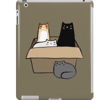 Cats in a Box iPad Case/Skin