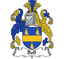 Bell Coat of Arms / Bell Family Crest Photographic Print