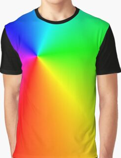 Multi-colored light Graphic T-Shirt