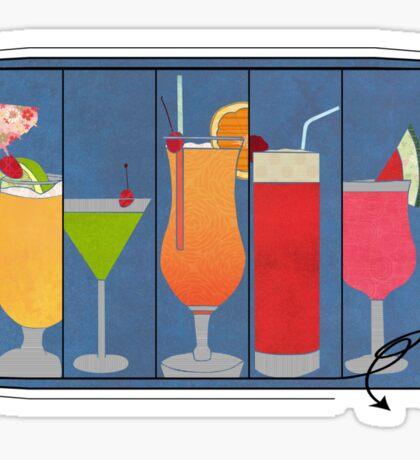 Fruit Drinks Sticker