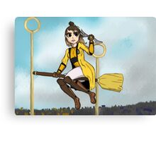 Hufflepuff winner! Canvas Print