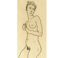 Standing nude Photographic Print