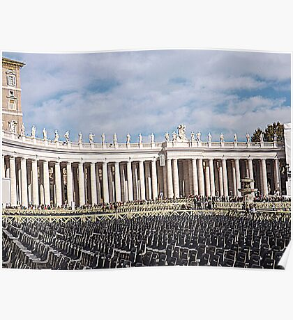 st peters Square-rome Poster