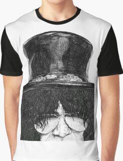 Slash Zoom Portrait Graphic T-Shirt