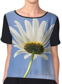 He Loves Me... He Loves Me Not Chiffon Top