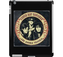 Stevie Ray Vaughan & Double Trouble Vintage iPad Case/Skin