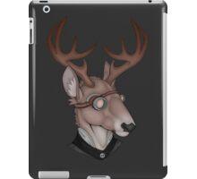 steampunk deer iPad Case/Skin