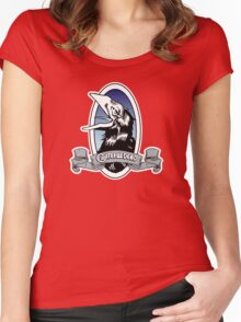 Grateful Dead Carrion Crow - Wake of the Flood Women's Fitted Scoop T-Shirt