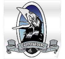 Grateful Dead Carrion Crow - Wake of the Flood Poster