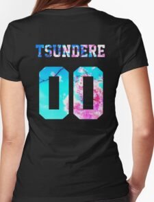 Tsundere - 00 Jersey Womens Fitted T-Shirt