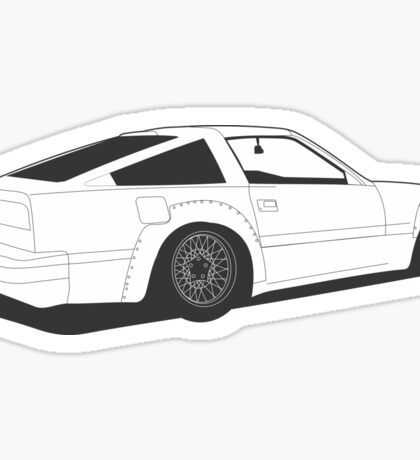 z31 Widebody2 Sticker