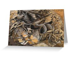 Charge Lancers - Cavalry Charge Greeting Card