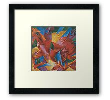 Plastic Forms of a Horse Framed Print