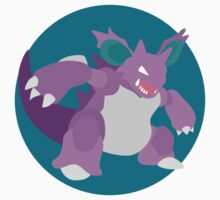 Nidoking - Basic by Missajrolls