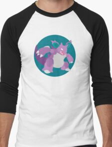 Nidoking - Basic Men's Baseball ¾ T-Shirt