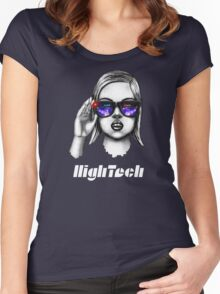 Geek High Tech Women's Fitted Scoop T-Shirt