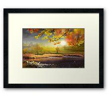 Countryside Flow Framed Print