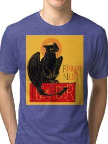 Fureur de Nuit Tri-blend T-Shirt