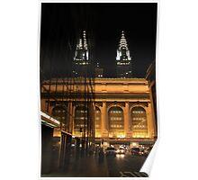 Chrysler Building & Grand Central Station, New York City Poster