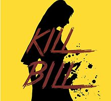 Kill Bill Iphone cover  by sleepyblues