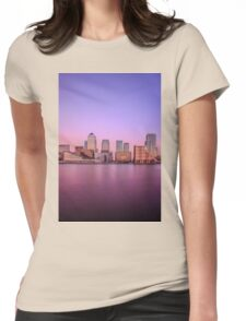 London Docklands  Womens Fitted T-Shirt