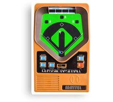 Classic Baseball Game Canvas Print