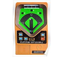 Classic Baseball Game Poster
